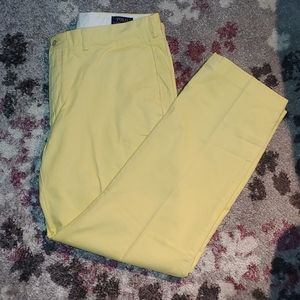 Polo Ralph Lauren Men's Yellow Chino Pants 38Wx32L